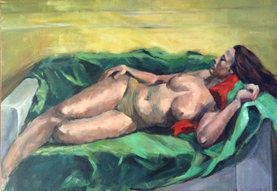 Γυμνό | Πίνακας Ζωγραφικής
